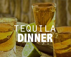 Tequila Dinner at The Fruteria