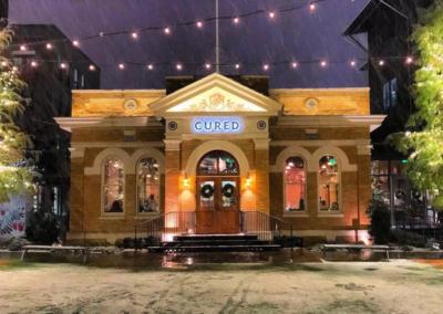 exterior of Cured restaurant